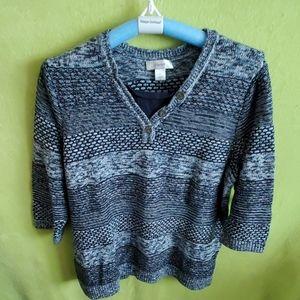 Cjbanks 2fer sweater